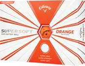 Callaway 2019 Supersoft Matte Orange Personalized Golf Balls product image