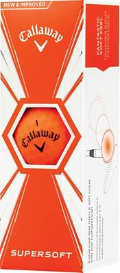 Callaway 2019 Supersoft Matte Orange Golf Balls product image