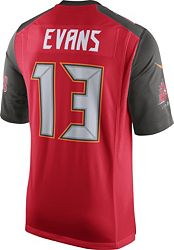 new arrival 43653 56ae6 Nike Men's Home Game Jersey Tampa Bay Buccaneers Mike Evans #13