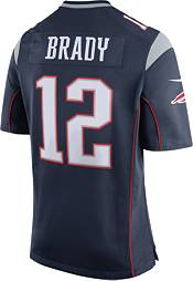 Nike Men's Home Game New England Patriots Tom Brady #12 Jersey product image
