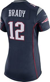 Nike Women's New England Patriots Tom Brady #12 Navy Game Jersey product image