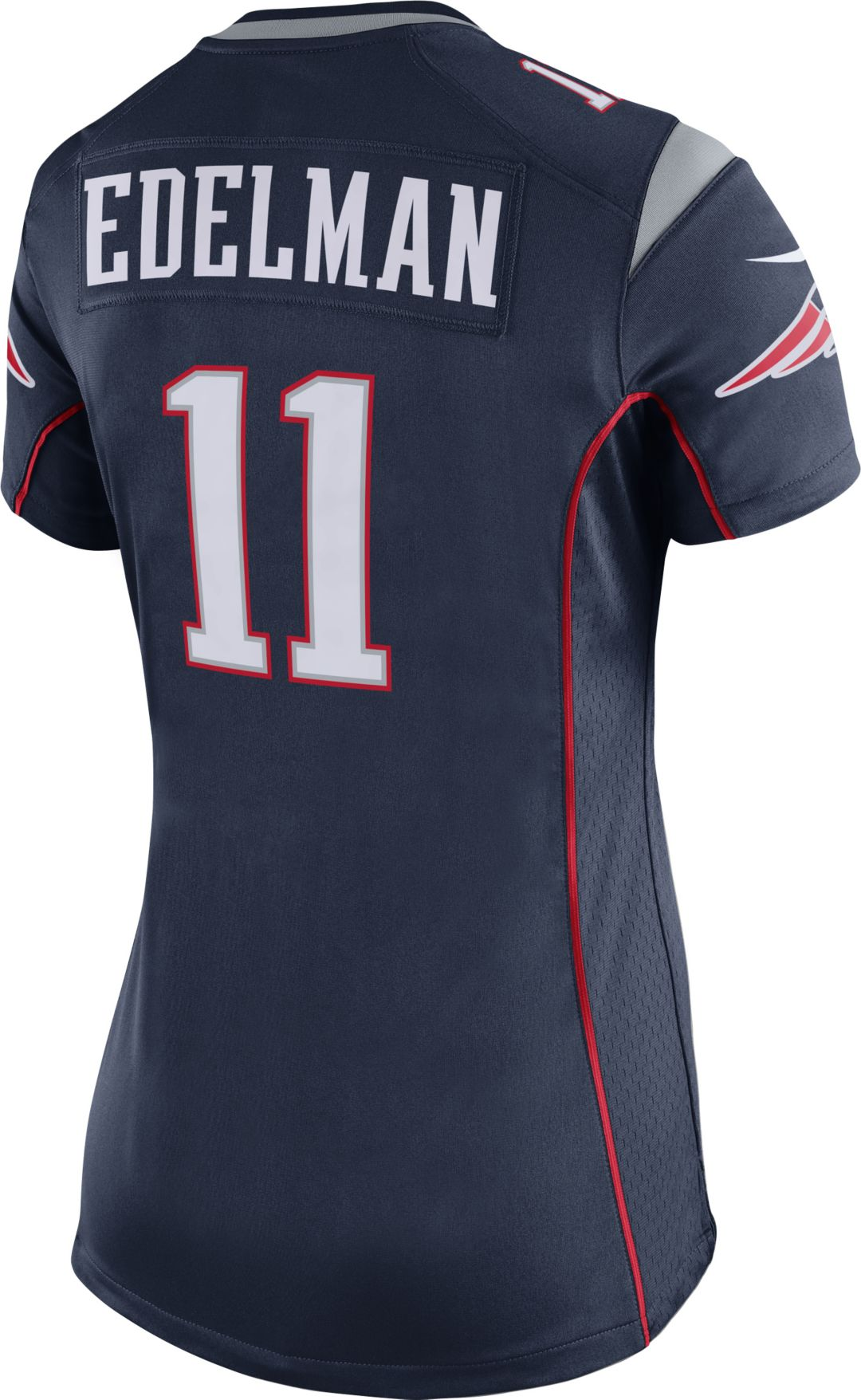 sale retailer eda87 227d6 Nike Women's Home Game Jersey New England Patriots Julian Edelman #11