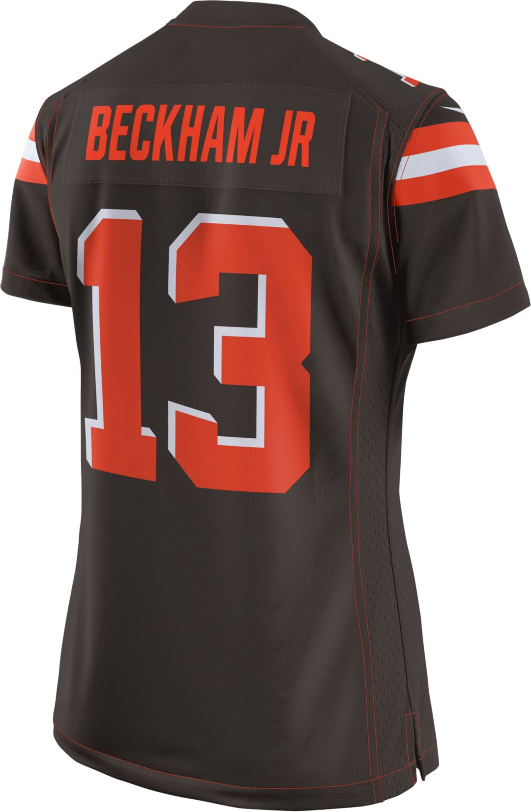 hot sale online 00e08 3a205 Nike Women's Home Game Jersey Cleveland Browns Odell Beckham Jr. #13