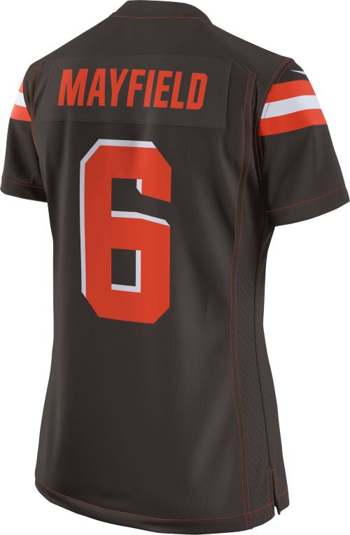 364220e51de ... Jersey Cleveland Browns Baker Mayfield #6. noImageFound. Previous. 1.  2. 3