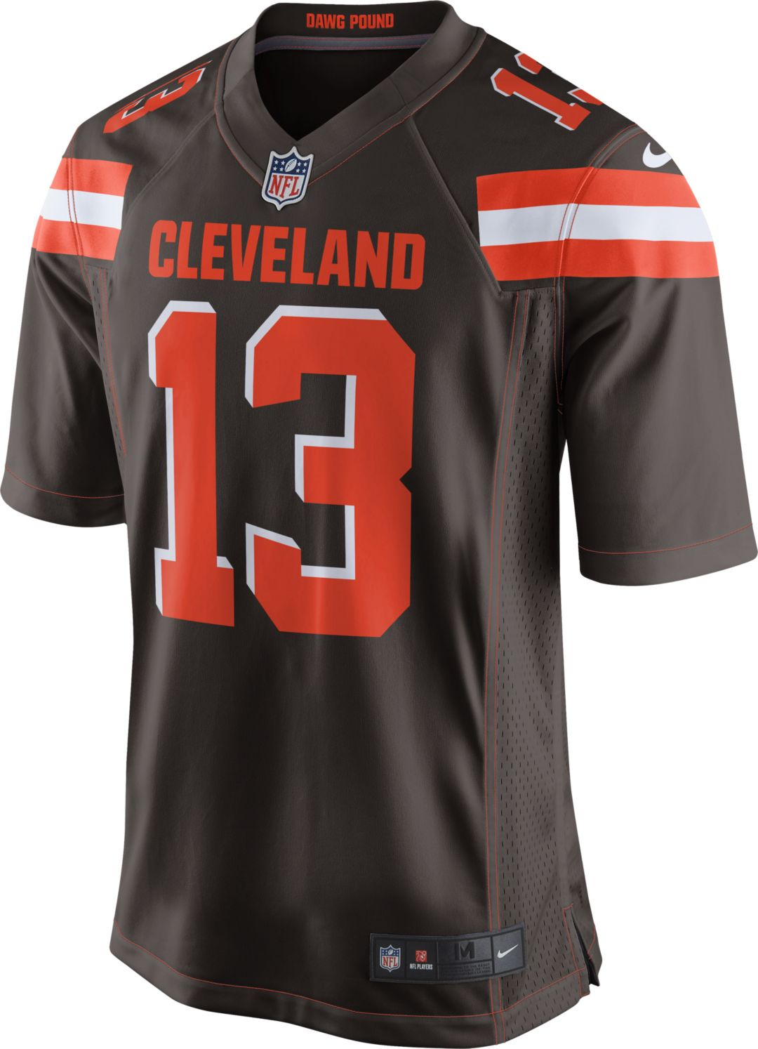 separation shoes dbffb 9119a Nike Men's Home Game Jersey Cleveland Browns Odell Beckham Jr. #13