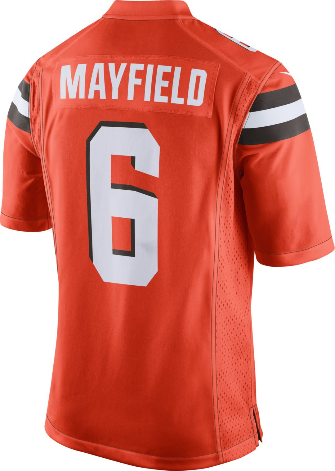 Nike Men's Alternate Game Jersey Cleveland Browns Baker Mayfield #6  free shipping