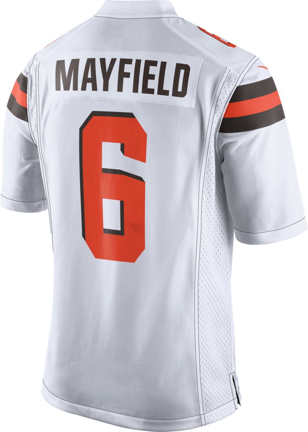 Nike Men's Away Game Jersey Cleveland Browns Baker Mayfield #6  for sale