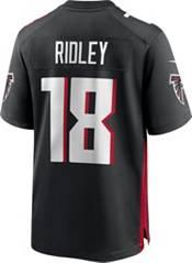 Nike Men's Atlanta Falcons Calvin Ridley #18 Home Black Game Jersey product image