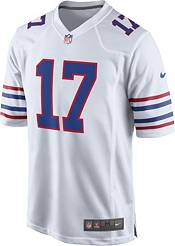 Nike Men's Buffalo Bills Josh Allen #17 White Game Jersey product image