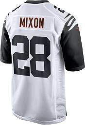 Nike Men's Cincinnati Bengals Joe Mixon #28 White Game Jersey product image