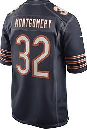 Nike Men's Chicago Bears David Montgomery #32 Navy Game Jersey product image