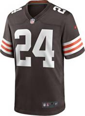 Nike Men's Cleveland Browns Nick Chubb #24 Brown Game Jersey product image