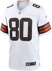 Nike Men's Cleveland Browns Jarvis Landry #80 Away White Game Jersey product image