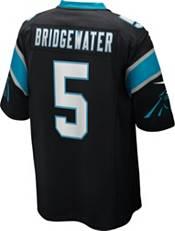 Nike Men's Carolina Panthers Teddy Bridgewater #5 Black Game Jersey product image