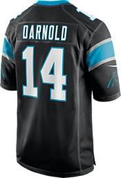Nike Men's Carolina Panthers Sam Darnold #14 Black Game Jersey product image