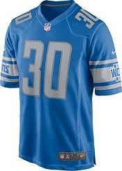Nike Men's Detroit Lions Jeff Okudah #30 Blue Game Jersey product image