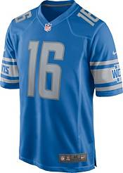 Nike Men's Detroit Lions Jared Goff #16 Blue Game Jersey product image