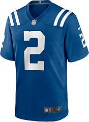 Nike Men's Indianapolis Colts Carson Wentz #2 Blue Game Jersey product image