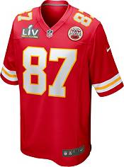 Nike Men's Kansas City Chiefs Travis Kelce #87 Super Bowl LV Bound Game Jersey product image
