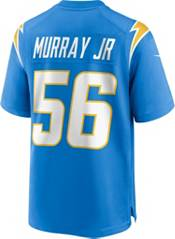Nike Men's Los Angeles Chargers Kenneth Murray #56 Blue Game Jersey product image