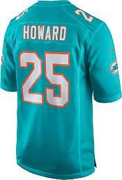 Nike Men's Miami Dolphins Xavien Howard #25 Aqua Game Jersey product image