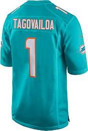 Nike Men's Miami Dolphins Tua Tagovailoa #1 Aqua Game Jersey product image