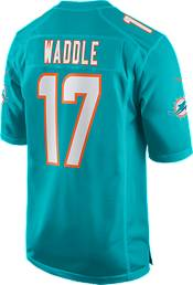 Nike Men's Miami Dolphins Jaylen Waddle #17 Aqua Game Jersey product image