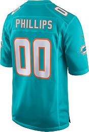 Nike Men's Miami Dolphins Jaelan Phillips Aqua Game Jersey product image
