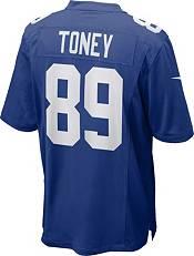 Nike Men's New York Giants Kadarius Toney Blue Game Jersey product image