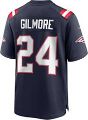 Nike Men's New England Patriots Stephon Gilmore #24 Home Navy Game Jersey product image