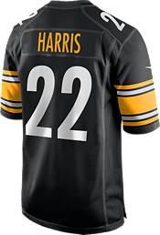 Nike Men's Pittsburgh Steelers Najee Harris #22 Black Game Jersey product image