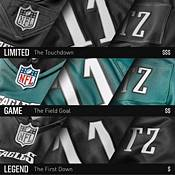 Nike Men's San Francisco 49ers Trey Lance #5 Alternate Black Game Jersey product image
