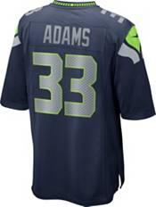 Nike Men's Seattle Seahawks Jamal Adams #33 Navy Game Jersey product image