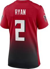 Nike Women's Atlanta Falcons Matt Ryan #2 Red/Black Game Jersey product image