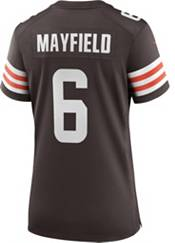 Nike Women's Cleveland Browns Baker Mayfield #6 Home Game Jersey product image