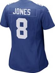 Nike Women's New York Giants Daniel Jones #8 Color Rush Blue Game Jersey product image