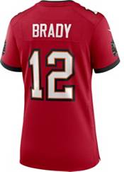 Nike Women's Tampa Bay Buccaneers Tom Brady #12 Red Game Jersey product image