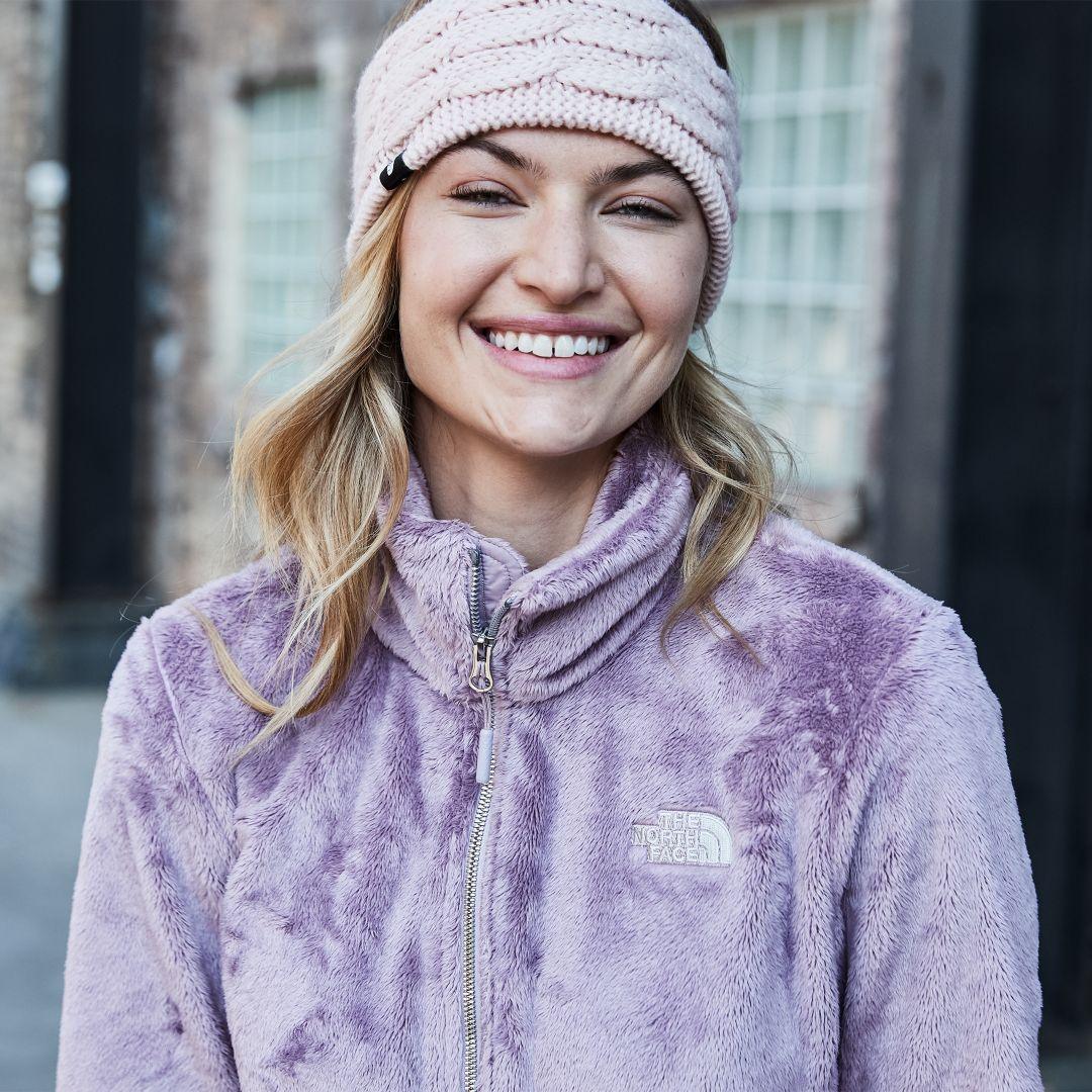 kuumia uusia tuotteita parhaiten myydä tehtaanmyymälä The North Face Women's Fuzzy Cable Ear Band