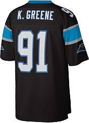Mitchell & Ness Men's Carolina Panthers Kevin Greene #91 1996 Black Jersey product image