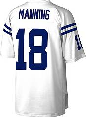 Mitchell & Ness Men's Indianapolis Colts Peyton Manning #18 White 2006 Away Jersey product image
