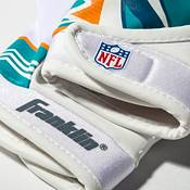 Franklin Miami Dolphins Youth Receiver Gloves product image