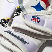 Franklin Youth Pittsburgh Steelers Team Logo Receiver Gloves product image