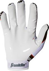 Franklin Cleveland Browns Youth Receiver Gloves product image