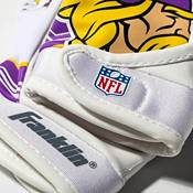 Franklin Youth Minnesota Vikings Receiver Gloves product image