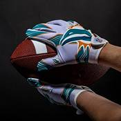 Franklin Youth Miami Dolphins Receiver Gloves product image