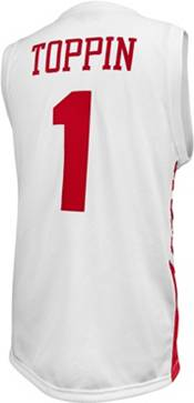 Original Retro Brand Men's Dayton Flyers Obi Toppin #1 White Replica Basketball Jersey product image