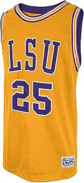 Retro Brand Men's LSU Tigers Ben Simmons #25 Gold Replica Basketball Jersey product image