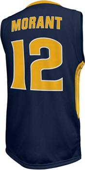 Original Retro Brand Men's Murray State Racers Ja Morant #12 Navy Blue Replica Basketball Jersey product image