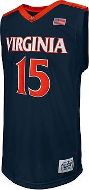 Retro Brand Men's Virginia Cavaliers Malcolm Brogdon #15 Blue Replica Basketball Jersey product image