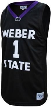 Original Retro Brand Men's Weber State Wildcats Damien Lillard #1 Black Replica Basketball Jersey product image